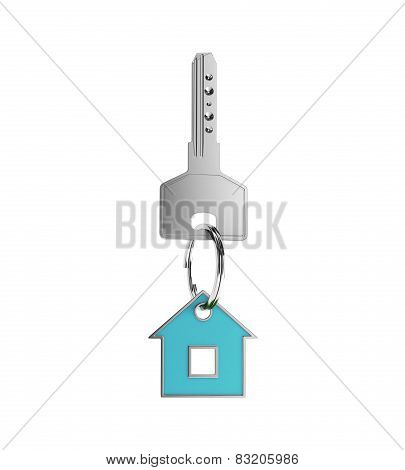 Key With Blue Trinket