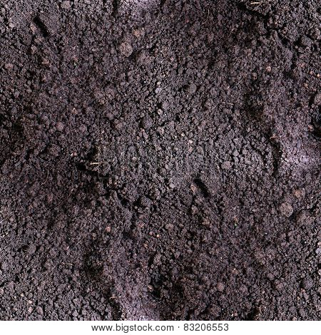 dirt seamless texture  soil land terra background