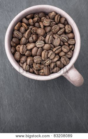 Coffee Beans in Cup