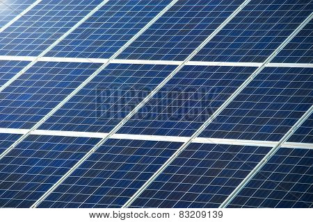 Photovoltaic Panel For Solar Power Generation Texture Or Pattern