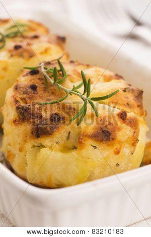 Potato Gratin With Fresh Rosemary