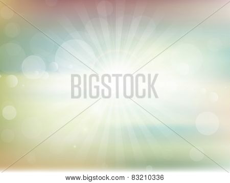 Abstract blur background with bokhe light effect