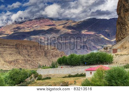 Play Of Light And Shadow, Mountains Of Ladakh