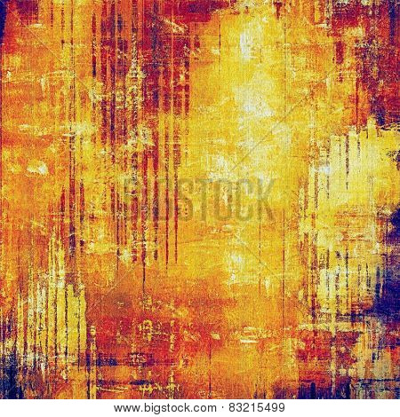 Grunge texture. With different color patterns: yellow (beige); blue; red (orange); purple (violet)