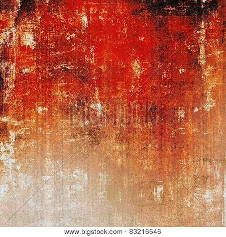 Abstract grunge background. With different color patterns: yellow (beige); brown; red (orange); black