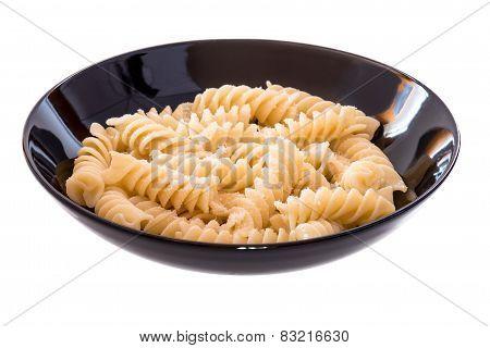 Italian Pasta Called Fusilli