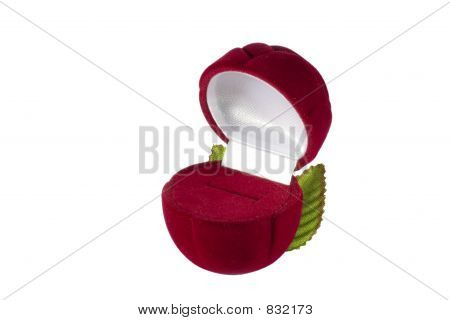 red casket