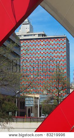 Monterrey Mexico Condominio Acero building