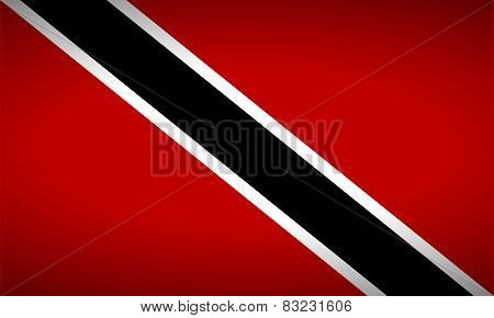 Flag Of Trinidad And Tobago.
