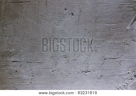 concrete wall with plaster plaster