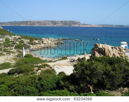Landscape cala corsara spargi