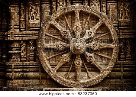 Beautiful chariot Wheel