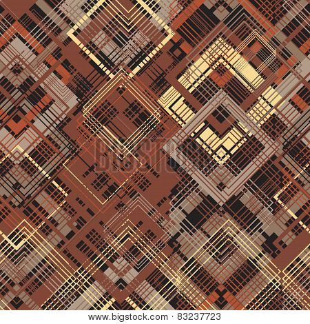 pattern, seamless, grunge, colorful, geometric, brown
