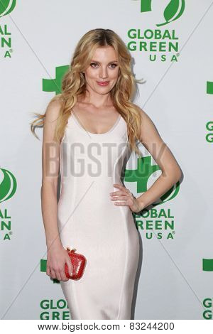 LOS ANGELES - FEB 18:  Bar Paly at the Global Green USA's 12th Annual Pre-Oscar Party at a Avalon on February 18, 2015 in Los Angeles, CA
