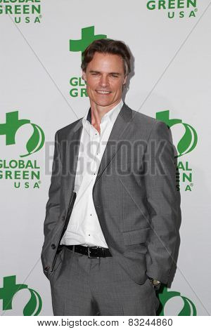 LOS ANGELES - FEB 18:  Dylan Neal at the Global Green USA's 12th Annual Pre-Oscar Party at a Avalon on February 18, 2015 in Los Angeles, CA