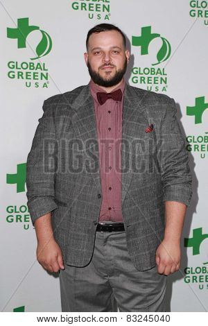 LOS ANGELES - FEB 18:  Daniel Franzese at the Global Green USA's 12th Annual Pre-Oscar Party at a Avalon on February 18, 2015 in Los Angeles, CA