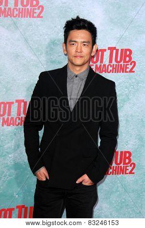 LOS ANGELES - FEB 18:  John Cho at the