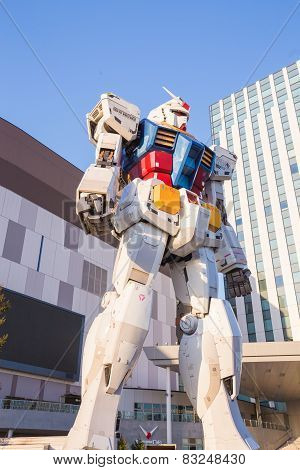 The Gundam RX78-2 at Odaiba, Japan
