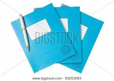 Three Exercise Books
