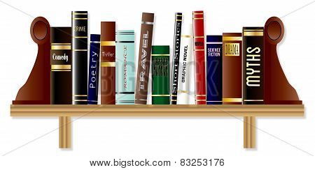 Genre Book Shelf
