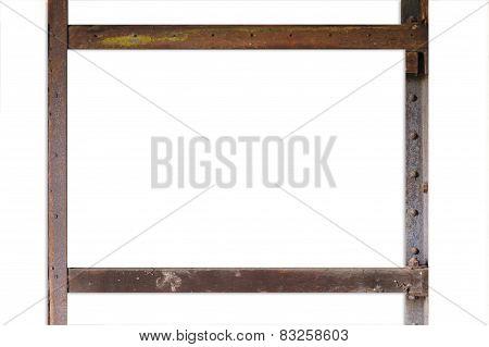 Rust Border Square Frame