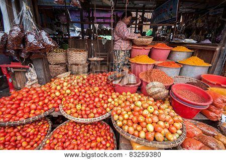 Myanmar Market