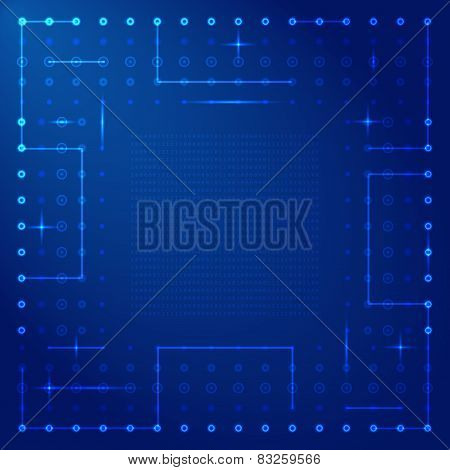 Computer Processor Vector Frame