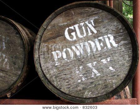 Gun Powder Barrel