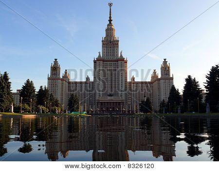 Moscow State University Of Lomonosov