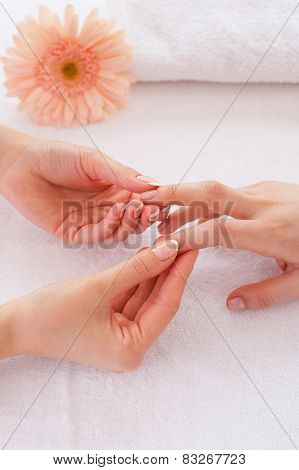 Massage For Fingers.