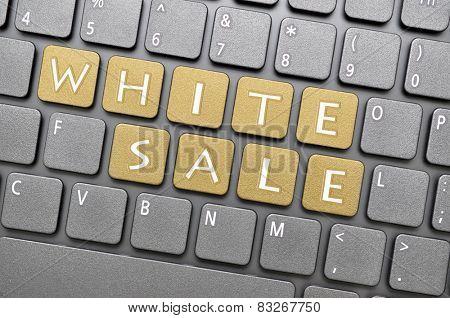 Brown white sale key on keyboard