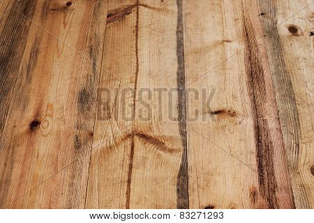 Background Of Wooden Slats