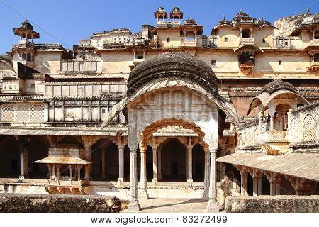 The Ruins Of The Bundi Palace.