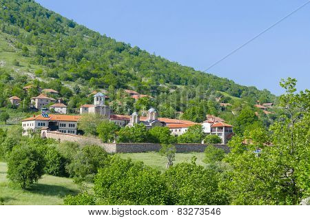 monastery and church complex Lesnovo