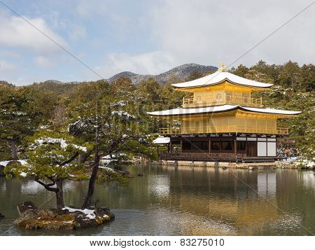 Golden Pavilion Kinkaku-ji Temple