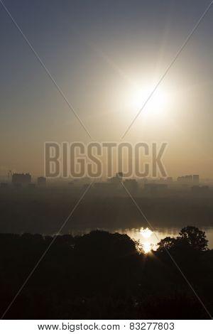 Kiev At Sunrise