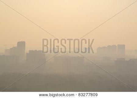 Kyiv At Morning