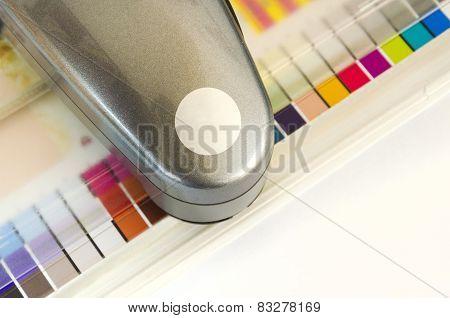 Spectrophotometer Print Measuring Tool