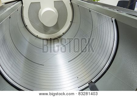 Computer to plate (CTP) drum, printing process