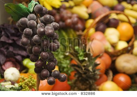 Grapes and other fruit