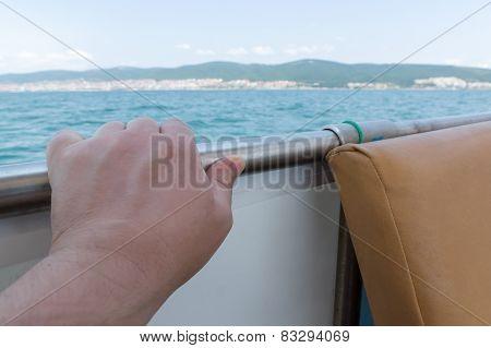 Hand And Sea