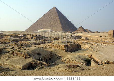 Tourists And Piramids