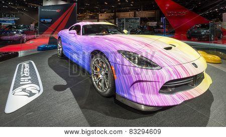 2015 Customized Dodge Viper GTC