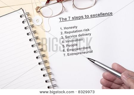 7 Steps To Excellence