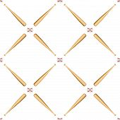 pic of baseball bat  - Universal vector baseball seamless patterns tiling - JPG