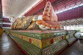 foto of yangon  - Chauk htat gyi reclining buddha  - JPG