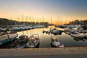 picture of zea  - Fishing boats and yachts in Zea Marina in Athens - JPG