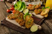 image of veal meat  - Mini cutlets  - JPG