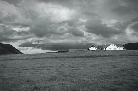 picture of iceland farm  - Iceland countryside landscape  - JPG