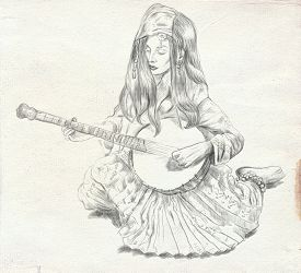 pic of banjo  - Theme - JPG